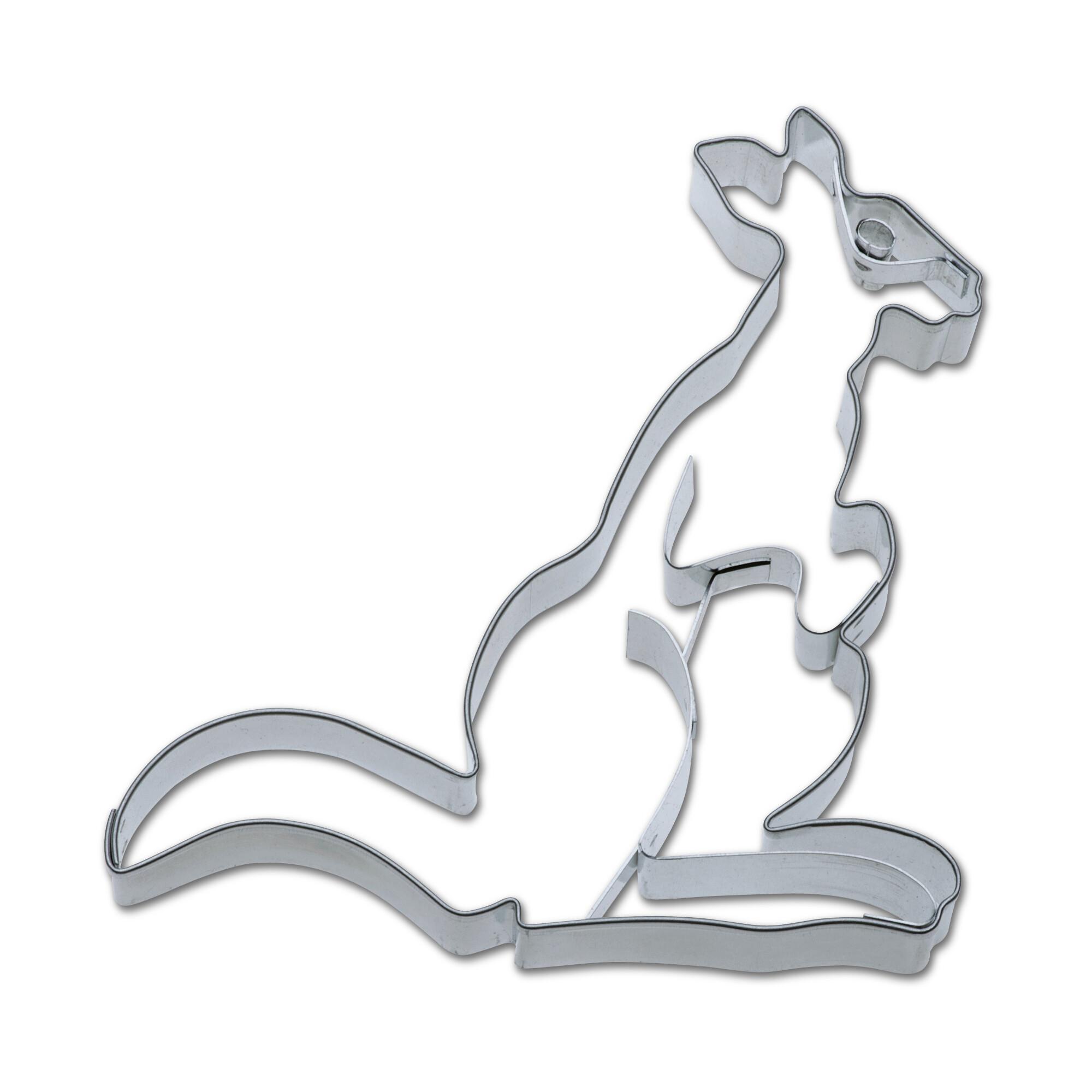 Präge-Ausstecher - Känguru
