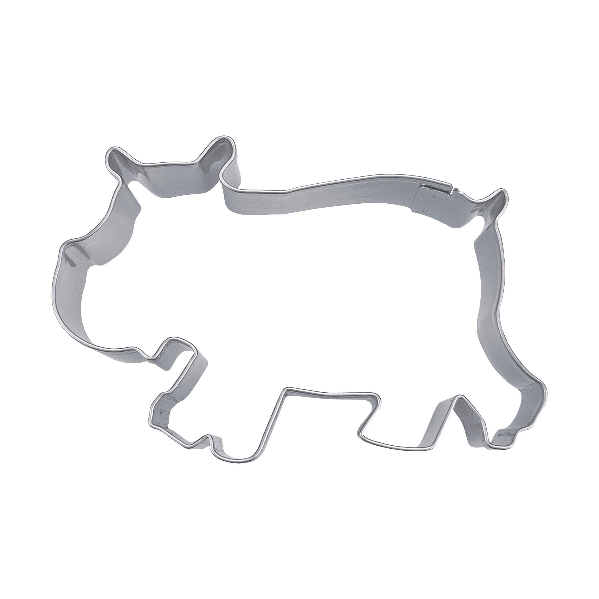 Ausstecher - Nilpferd