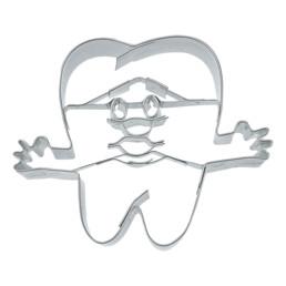 Präge-Ausstecher - Zahn - mit Gesicht und Händen