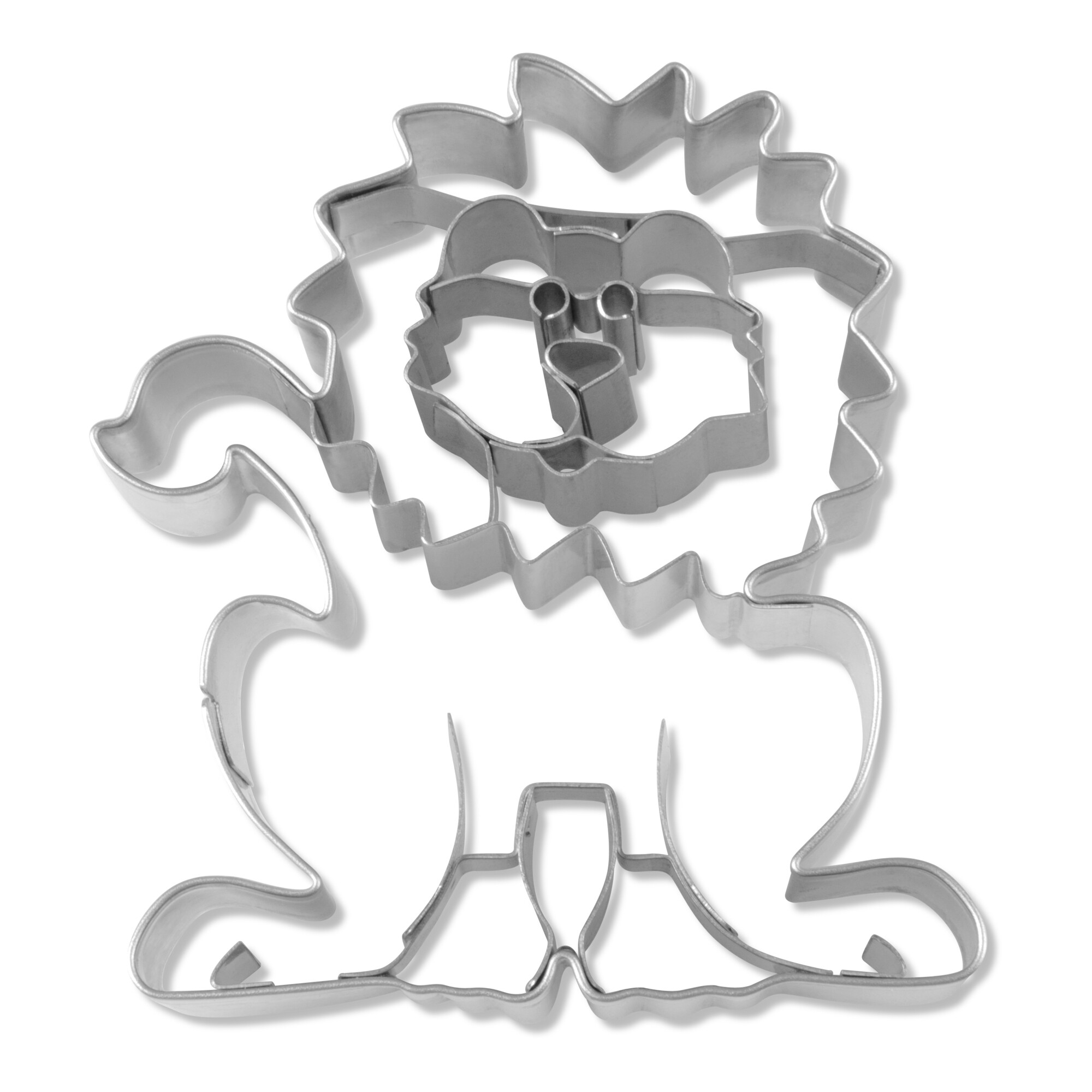 Cookie cutter with stamp - Lion