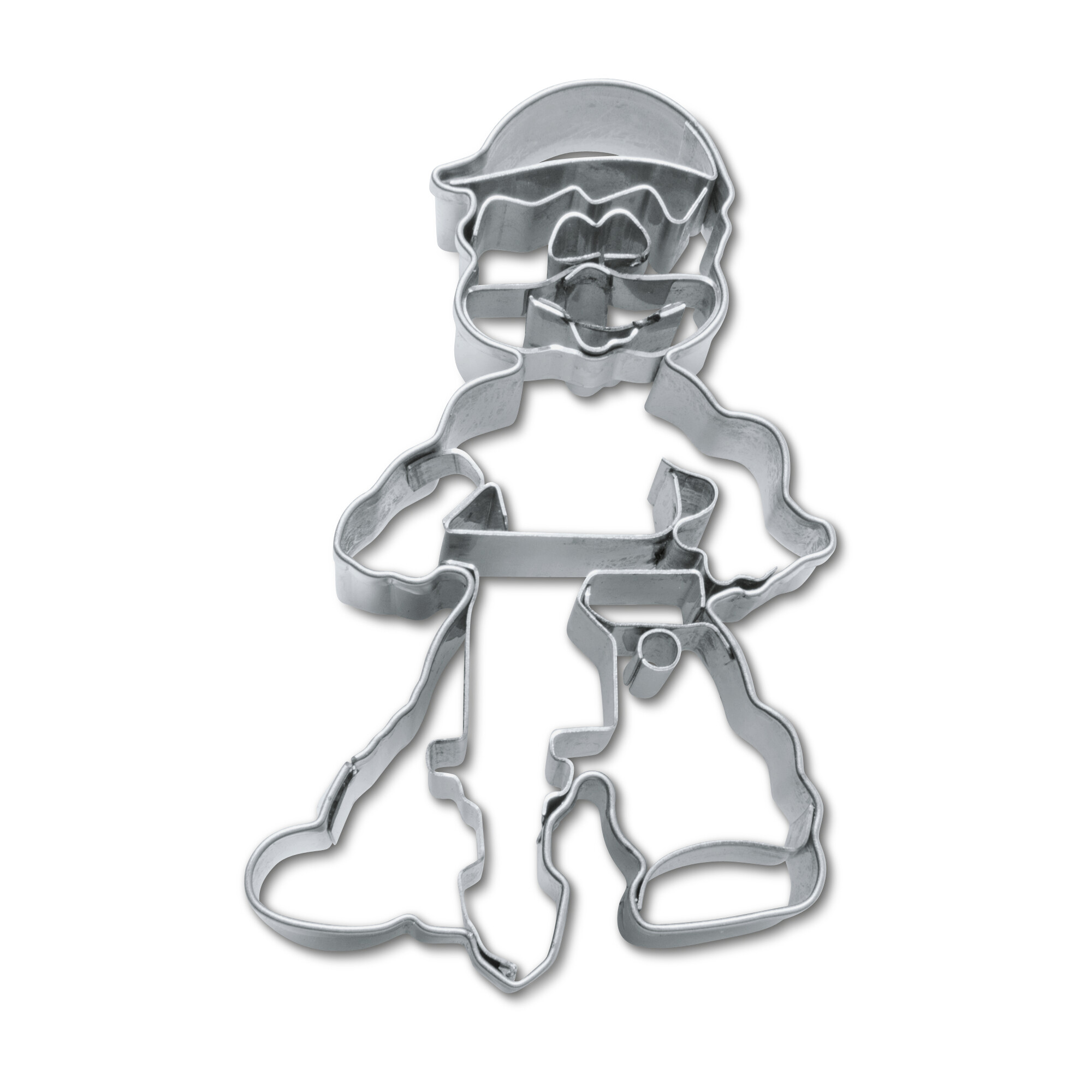 Cookie cutter with stamp - Construction worker
