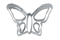 Cookie cutter with stamp - Butterfly