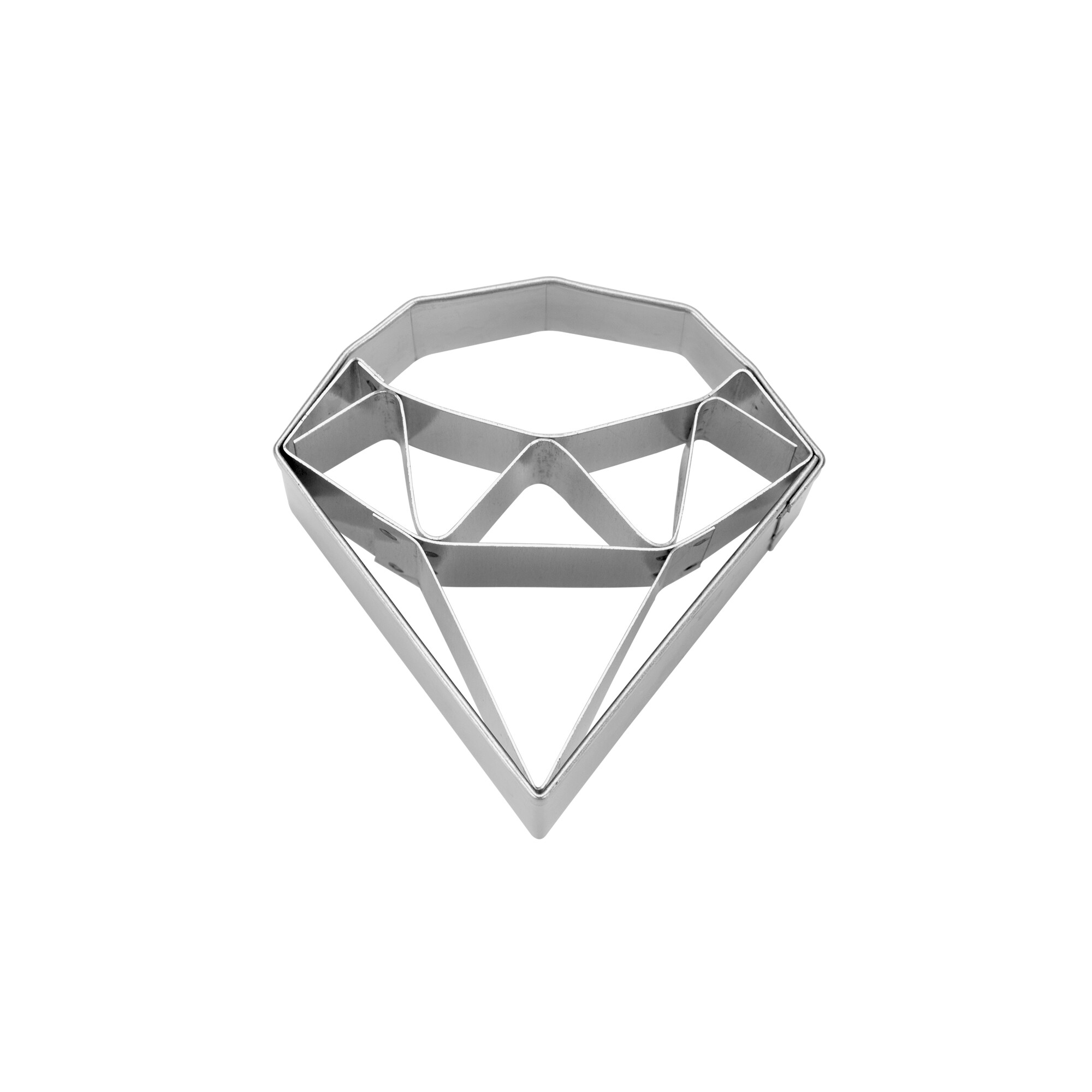 Cookie cutter with stamp - Diamond