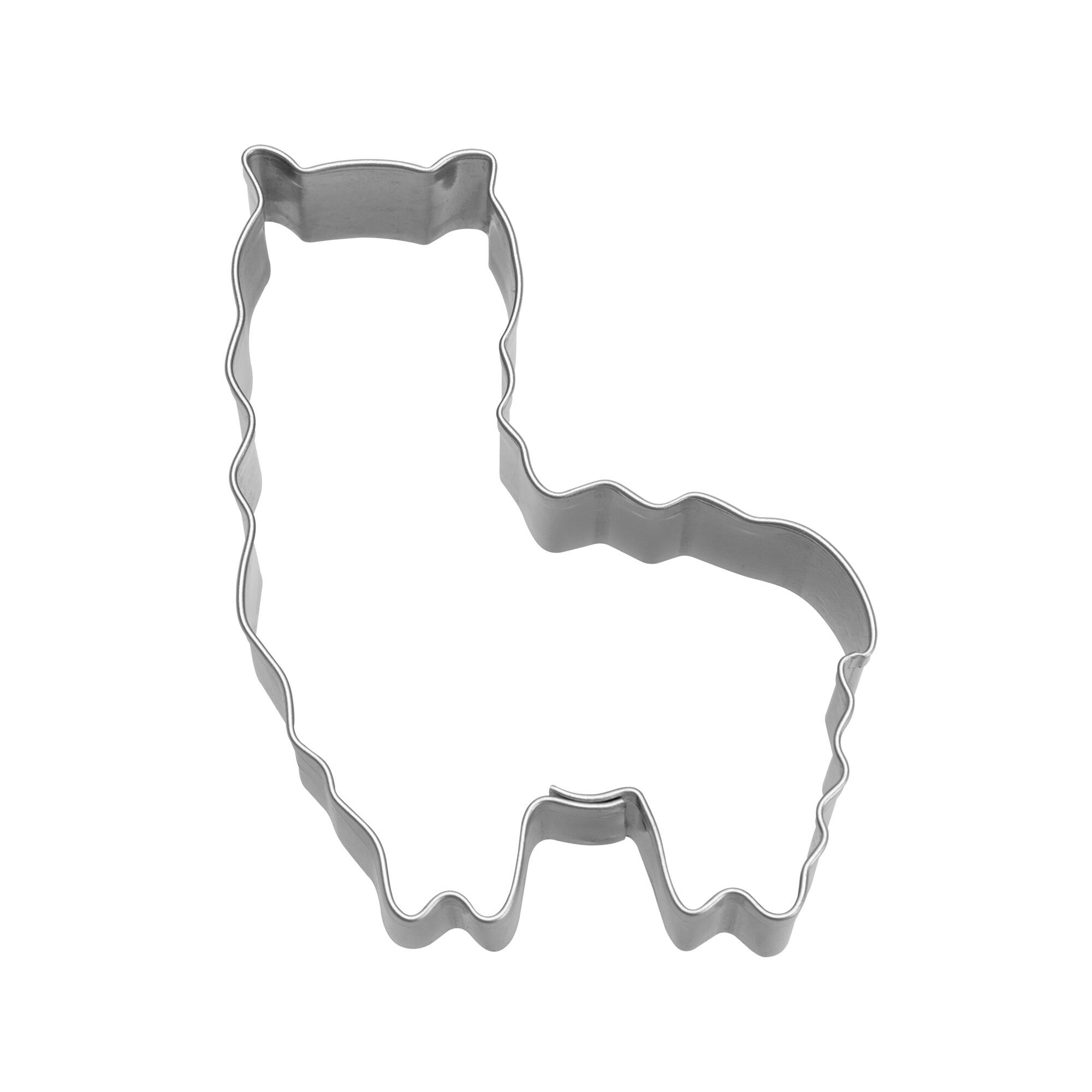 Ausstecher - Alpaka