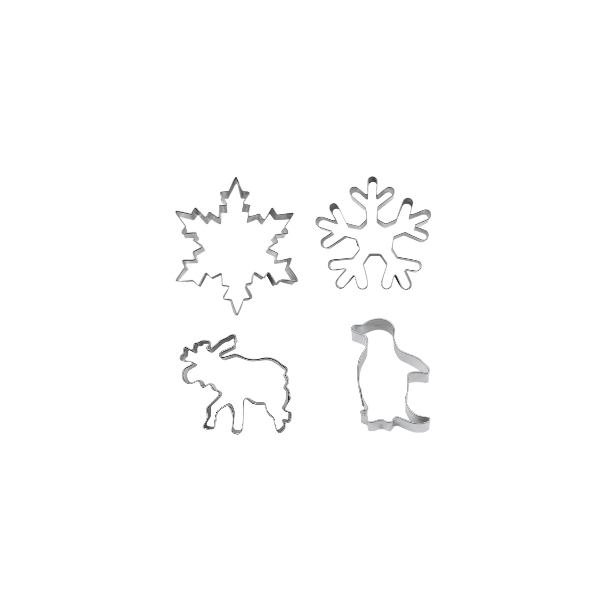 Ausstecher - Winterwunderland - Set, 4-teilig