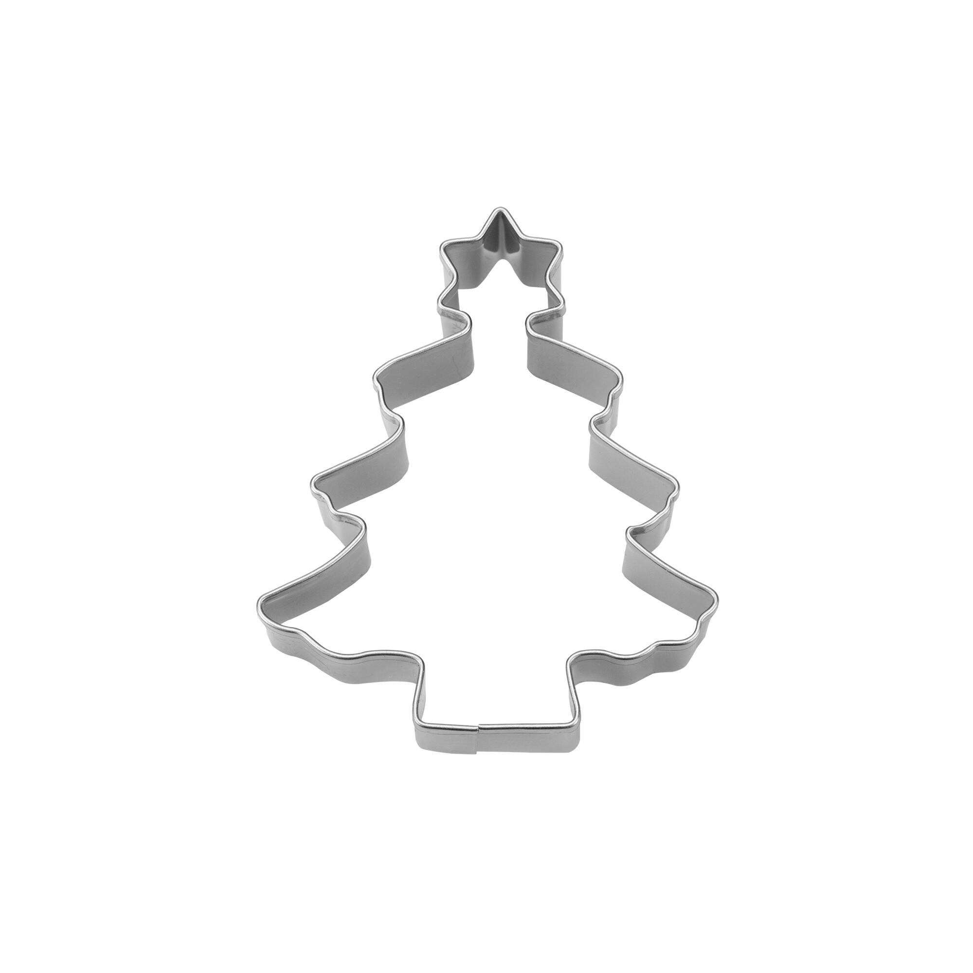 Ausstecher - Tannenbaum - mit Stern