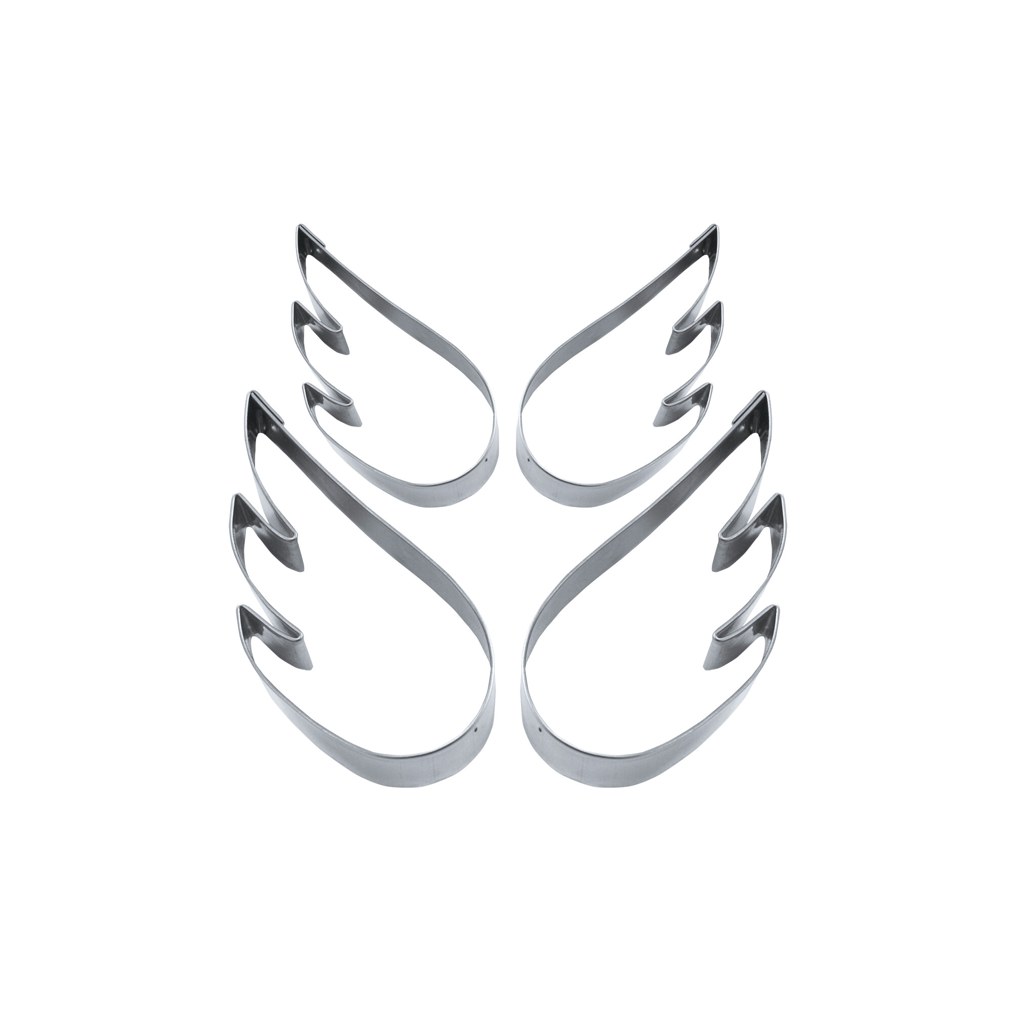 Ausstecher - Engelsflügel - Set, 4-teilig