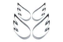 Cookie Cutter - Angelwings - Set, 4 parts
