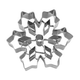 Ausstecher - Eiskristall - mit Kristall-Aussparungen