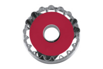 Linzer cookie cutter with ejector - Welser-Ringerl 1 hole - demountable
