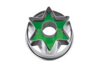 Linzer-Ausstecher mit Auswerfer - Stern - nicht zerlegbar