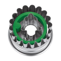 Linzer-Ausstecher mit Auswerfer - Linzer Glocke - nicht zerlegbar