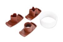 Linzer cookie cutter - Spitzbub cookie cutter - smooth - with change motives
