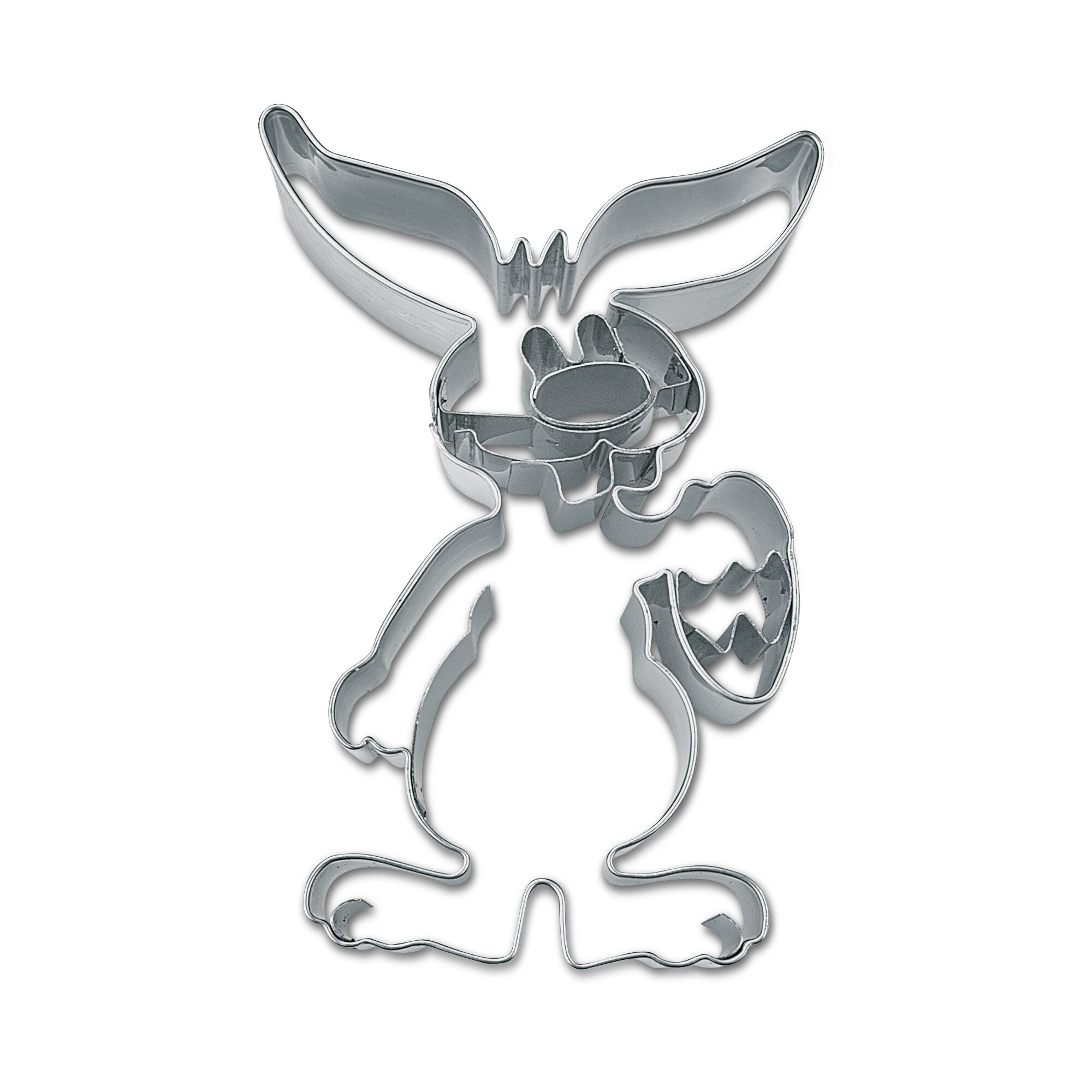 Cookie cutter with stamp - Rabbit - with egg