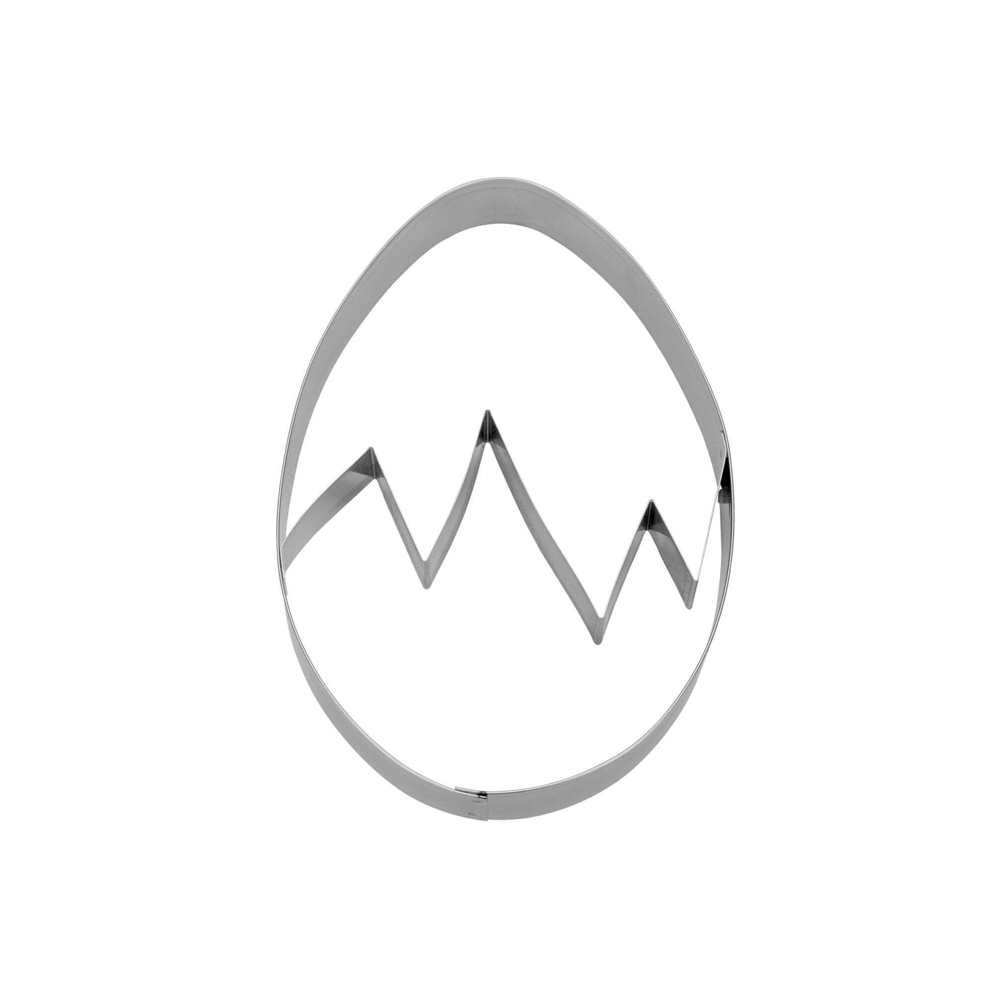 Präge-Ausstecher - Ei - mit Prägesteg