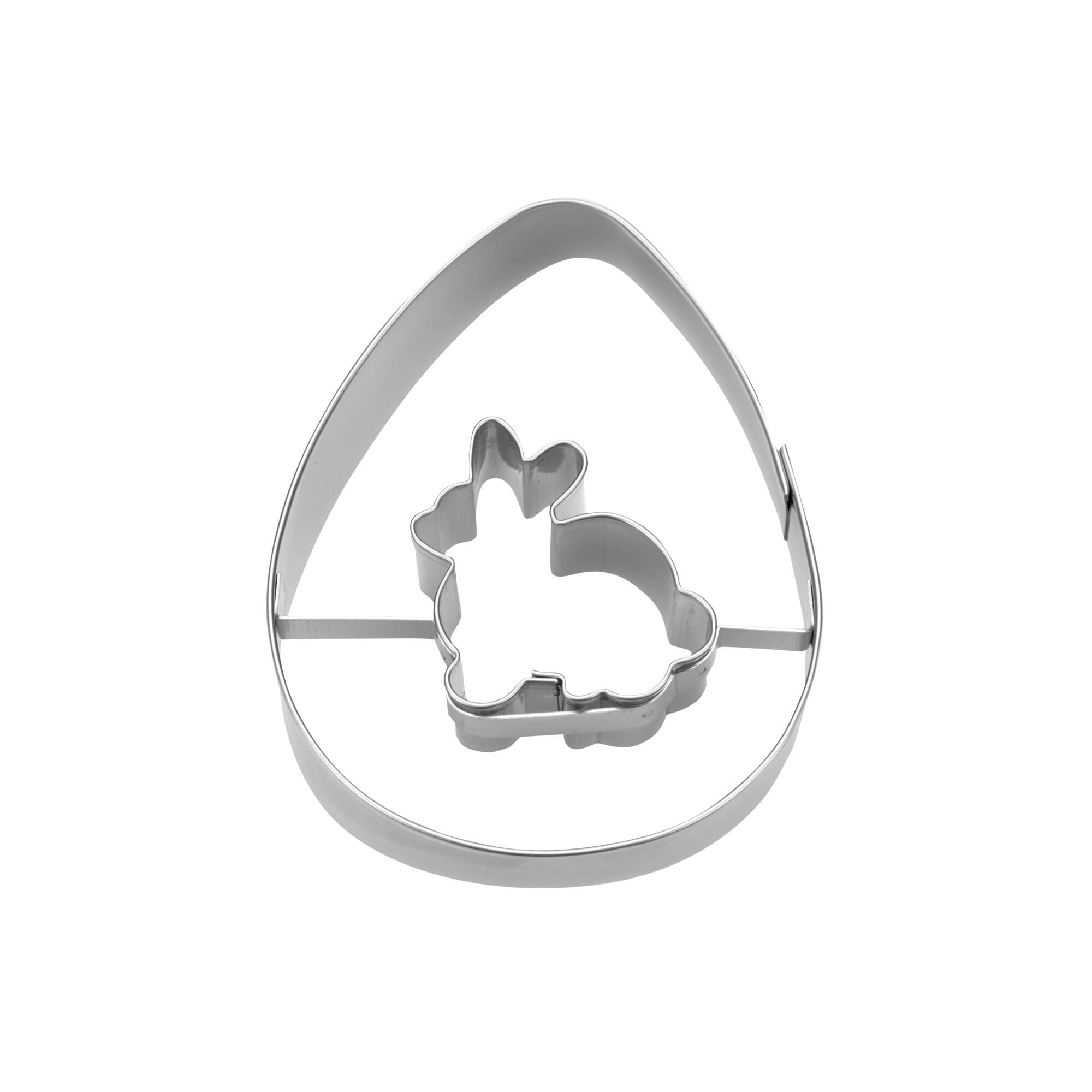 Ausstecher - Ei mit Hase