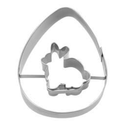Cookie Cutter - Egg with rabbit