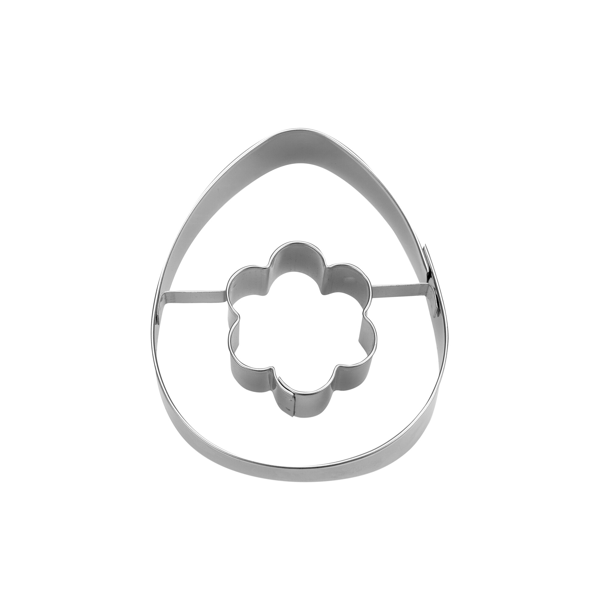 Cookie Cutter - Egg with flower