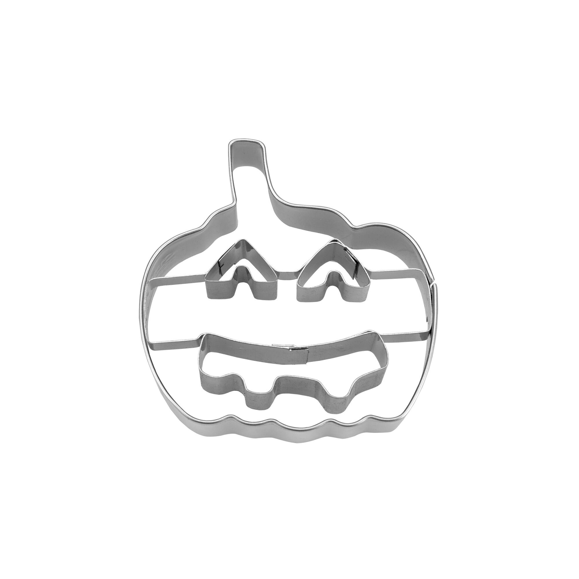 Präge-Ausstecher - Kürbis mit Gesicht / Halloweenkürbis