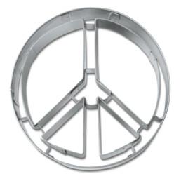 Präge-Ausstecher - Peace-Zeichen