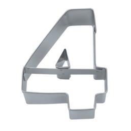 Ausstecher - Zahl 4