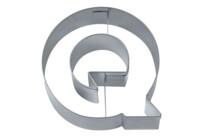 Ausstecher - Buchstabe Q