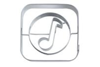 Präge-Ausstecher - App-Cutter Music