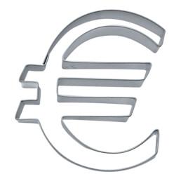 Ausstecher - € - Euro-Zeichen