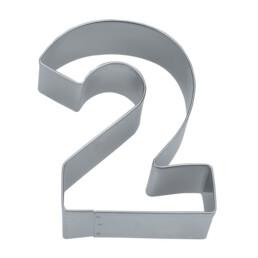 Ausstecher - Zahl 2