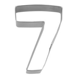 Ausstecher - Zahl 7