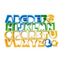 Ausstecher - Alphabet - Set, 28-teilig