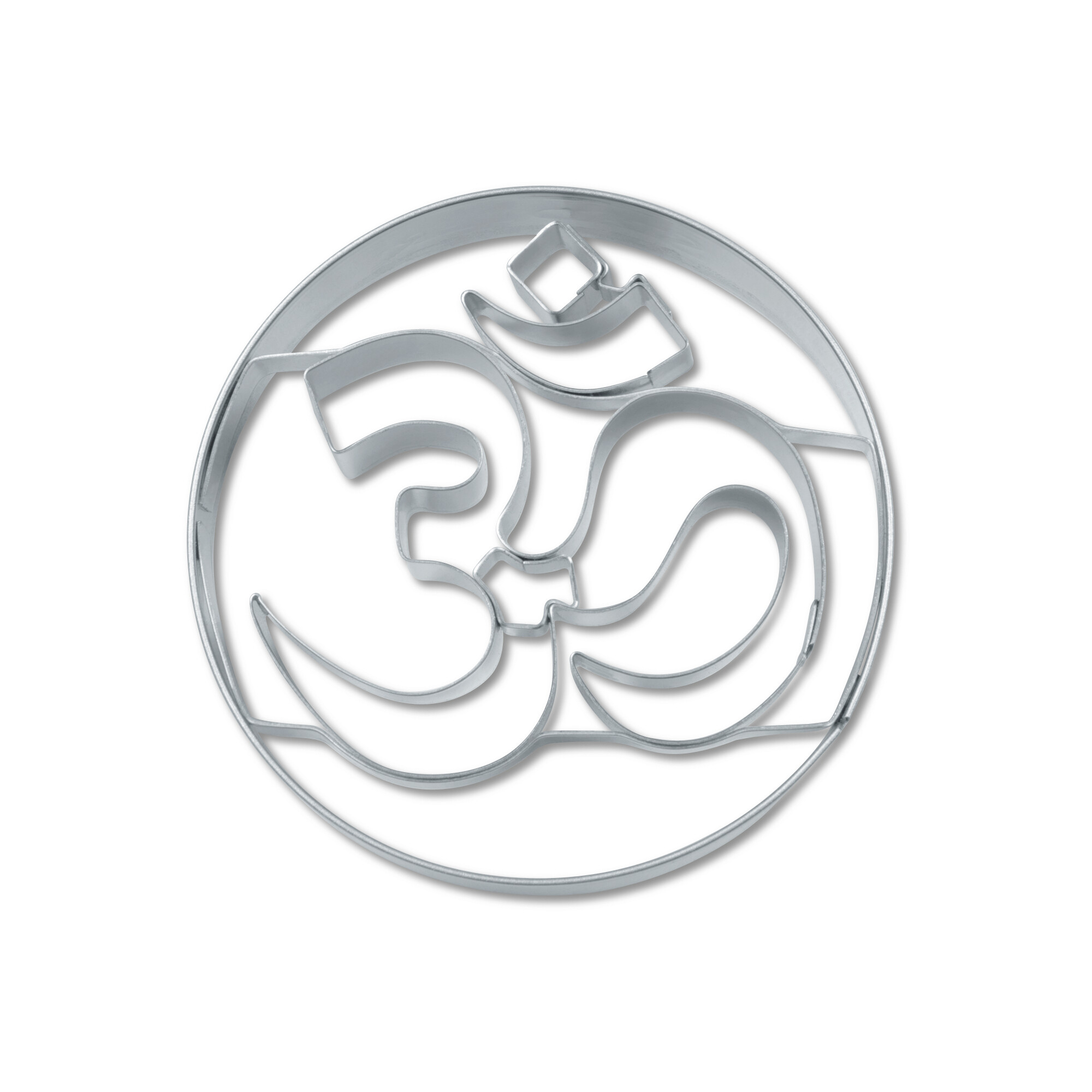 Cookie cutter with stamp - Om