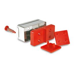 Präge-Ausstecher mit Auswerfer - Domino - Set, 15-teilig