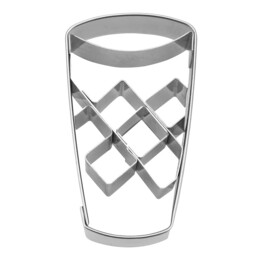 Cookie cutter with stamp - Apple wine glass