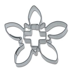 Ausstecher - Edelweiß mit Kreuz