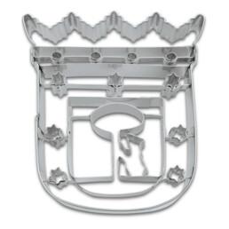 Präge-Ausstecher - Madrid Wappen
