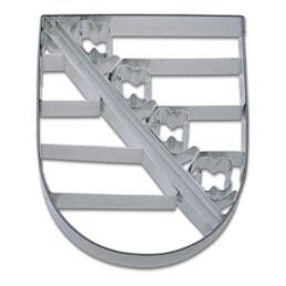 Präge-Ausstecher - Sachsen Wappen