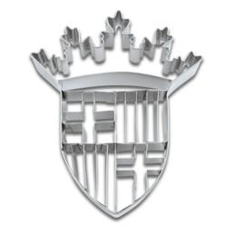 Präge-Ausstecher - Barcelona Wappen