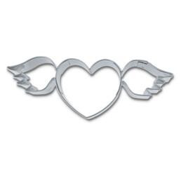 Präge-Ausstecher - Fliegendes Herz