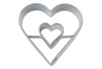 Ausstecher - Herz in Herz