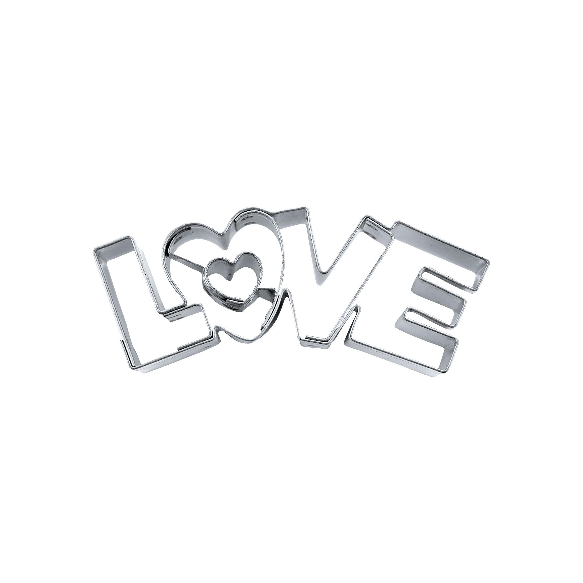 Präge-Ausstecher - Love