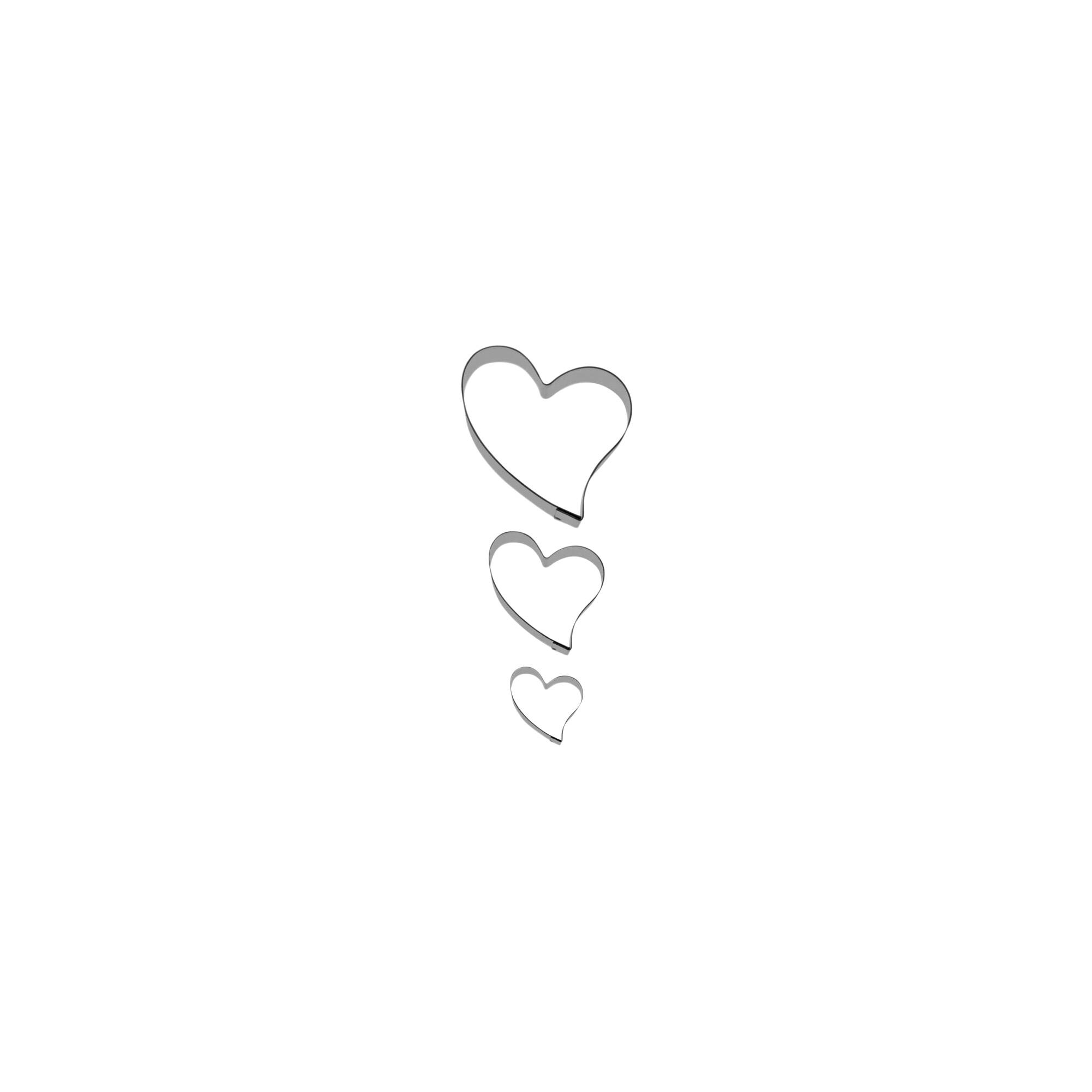 Ausstecher - Liebe - Set, 3-teilig