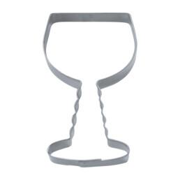 Ausstecher - Weinglas Franken