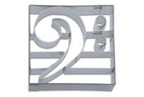 Präge-Ausstecher - Bassschlüssel