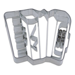 Cookie cutter with stamp - Accordion