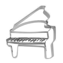 Cookie cutter with stamp - Grand Piano