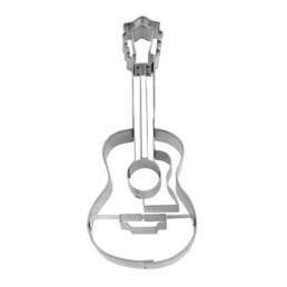 Cookie cutter with stamp - Guitar