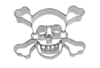 Cookie cutter with stamp - Skull