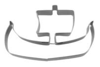 Ausstecher - Wikingerboot