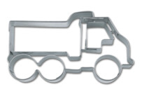 Cookie cutter with stamp - Lorry